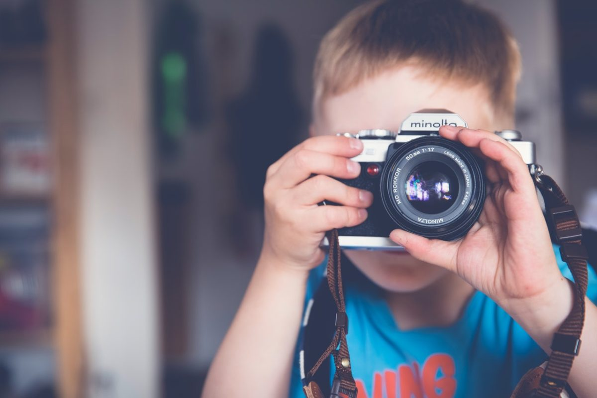 Getting children interested in photography