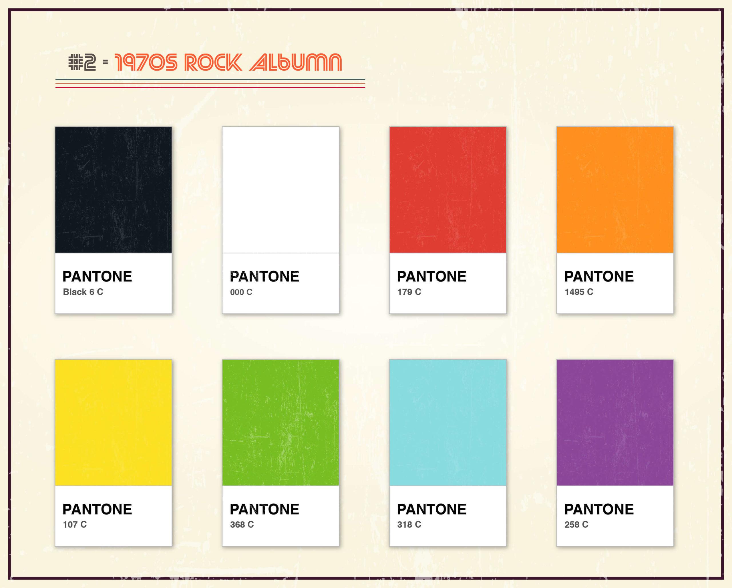 Album Artwork As Pantone: Famous Album Covers Without Text Quiz_2